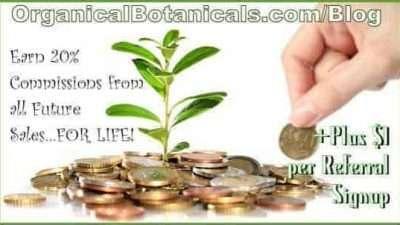 Organical Botanicals Affiliate and Referral Program