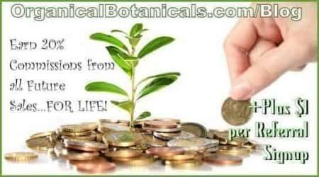 Organical Botanicals Affiliate and Referral Program